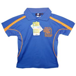 Royal Blue/Gold Polo Shirt