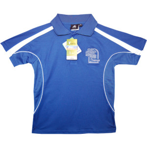 Polo Shirt (Royal Blue/White)